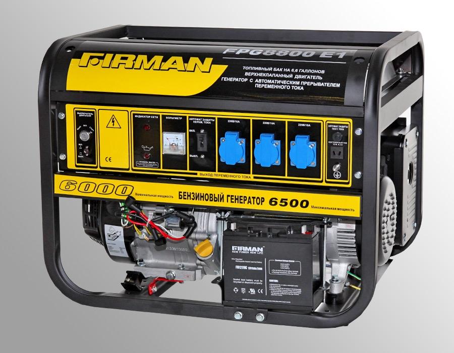 Генератор бензиновый firman spg 950 генератор FIRMAN SPG950